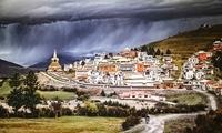 成都龙泉驿举办四川藏羌地域建筑艺术展