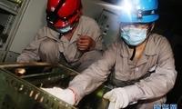 郑州:抢修社区电力 保障居民用电