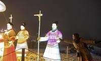 中国自贡灯会首次走进乌克兰