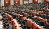 朝鲜劳动党八届三中全会闭幕
