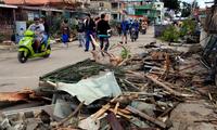 古巴龙卷风灾区为啥来了个中国小伙?
