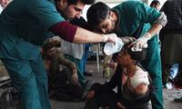 阿富汗议会选举期间发生爆炸 已致44死238伤