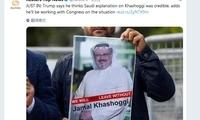 """沙特称""""失踪""""记者因冲突死亡 特朗普:解释可信"""