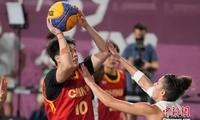 """""""十分钟"""",她们创造中国篮球历史"""