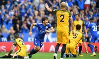 英超-小豌豆两球西汉姆2-3 冈崎慎司助莱斯特城2-0