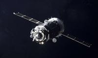 """NASA发布图片:""""联盟MS-12""""号飞船与国际空间站成功对接"""