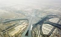北京新机场航站楼实现功能性封顶封围