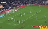 又是阿尔巴助攻,梅西替补登场攻入一球