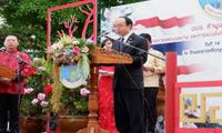 任义生总领事出席南奔府中泰语言文化项目成果汇报及学术技能竞赛开幕式