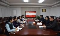 党委书记王金生出席并指导旅游学院党总支民主生活会