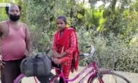 印度女孩千里骑行载父返乡 印议员:不是啥杰出成就,被逼的