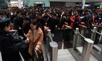 铁路春运单日旅客发送量创历史新高