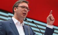 塞尔维亚总统指责美英德支持建立科索沃军队