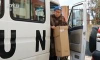 中国赴黎巴嫩维和医疗分队为学生开展急救培训