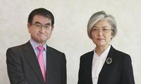 韩日外长在德国举行会谈,双方均认为两国关系面临诸多难题