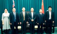 屈光洲代办会见中国环境科学研究院代表团