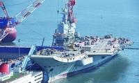 国产航母机库比辽宁舰增大10%,钢材设备全国产,2018年将有精彩呈现