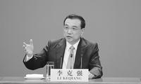 李克强总理会见采访两会的中外记者 并回答提问