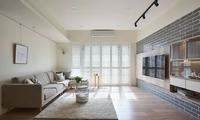 116㎡的北欧风,卧室的颜色搭配好温暖!