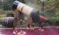 日本出现另类浴池