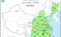 中国中东部地区明起将迎大范围雨雪天气