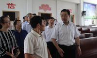 江苏省委常委、统战部长杨岳赴淮安调研宗教工作