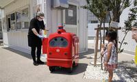 快递员可能也要失业了?日本测试自动行走送货机器人