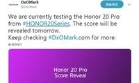 排行榜要变了DxOMark 荣耀20 Pro相机评分将公布