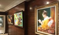 蔡居先生10年回顾个人画展在沪举行