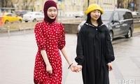 2019秋冬俄罗斯时装周:潮人街拍