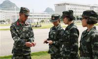 武警广西总队:迈好军营第一步 武警新兵开展适应性训练