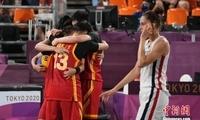 东京奥运会中国女子三人篮球收获铜牌