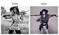今年流行这样穿?其实,你身上的时尚单品,上个世纪就流行过了!