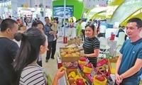 中秋快去逛四川农博会 各种特色水果香甜又相因
