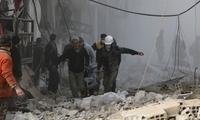"""""""人间炼狱"""":叙利亚东古塔冲突已致三百平民死亡"""