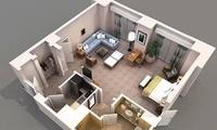 36种布局3D设计图集锦,建议收藏!