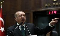 埃尔多安指责美国:不卖武器给土耳其 却免费送恐怖组织
