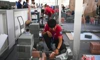 世界技能大赛全国选拔赛 广东赛区选手现场拼绝技