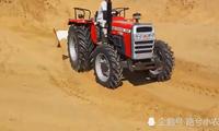 没有挖机,国外农民用这种方式装土上车,真是太聪明了
