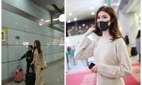 超模何穗现身机场被偷拍 PS前后照片曝光差距有多大