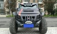 小伙花54万元买辆jeep牧马人,经过一周改装却改出了装甲车的效果
