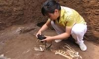 疑似秦始皇祖母墓陪葬坑发现长臂猿遗骸