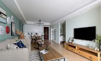 刚装修好85㎡的房子,好多设计都值得借鉴,实用又好看!