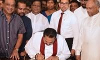 斯里兰卡新总理宣布辞职 外媒称政治危机有望结束