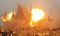 巴以冲突造成一名巴勒斯坦人死亡逾百人受伤