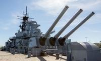 美最强战列舰!中国军迷参观依阿华号