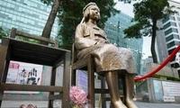 """韩国釜山认定日本总领事馆前""""慰安妇""""雕像合法,日方反对"""
