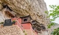 """山西最""""惊险""""的建筑,建在悬崖峭壁上,长年游客如云!"""