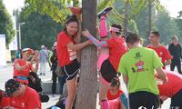 中国健身名山登山赛在江苏徐州云龙山景区开赛