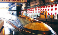 印媒:印度第二艘国产核潜艇下水 排水量6千吨